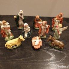 Figuras de Belén: FIGURAS DEL BELEM....10 FIGURAS...CERAMICA... Lote 161130494