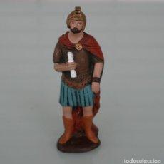 Figuras de Belén: FIGURA DE BELEN NACIMIENTO… DE TERRACOTA BARRO PINTADA A MANO ALTURA 11,5 CM PESO 89 GR.. Lote 161131834