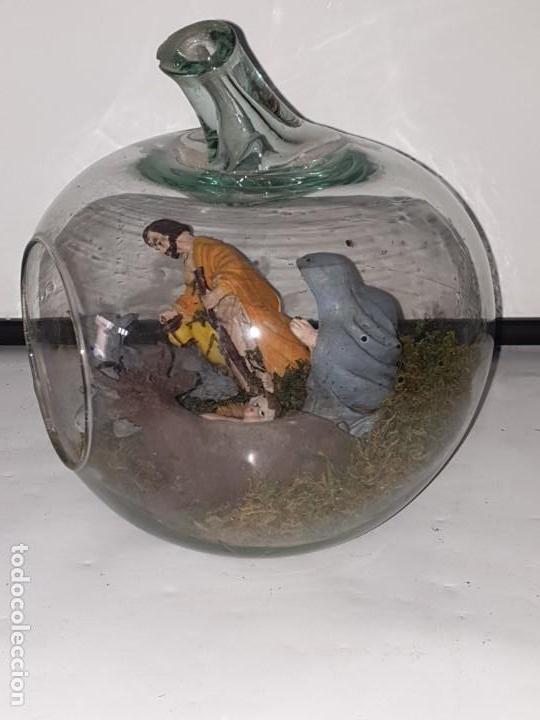 Figuras de Belén: BELEN EN RECIPIENTE CRISTAL - Foto 4 - 163449854