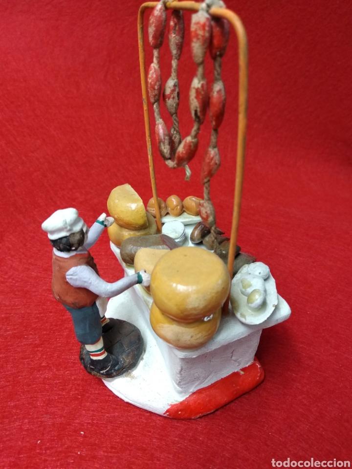 Figuras de Belén: Figura de terracota. Figura Belén. Charcutero - Foto 4 - 164447473