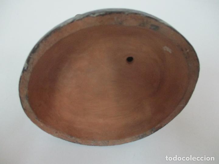 Figuras de Belén: Antigua Figura de Belén, Nacimiento - Terracota Policromada - Posible Ramón Amadeu- S. XVIII-XIX - Foto 19 - 165043126