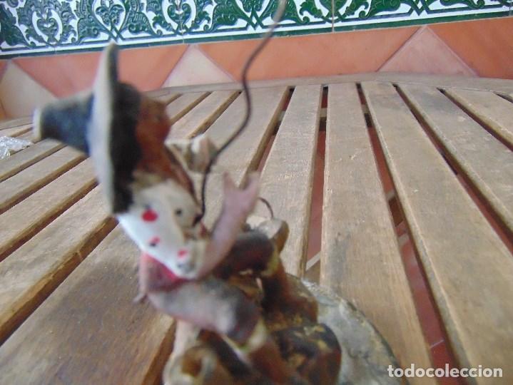 Figuras de Belén: ANTIGUA FIGURA DE BELEN EN BARRO TERRACOTA ANGEL MARTINEZ ?? EL PUERTO DE SANTA MARIA RESTAURAR - Foto 13 - 165179366