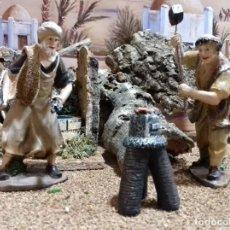 Figuras de Belén: GRUPO 3 FIGURAS OFICIOS HERRERO. FIGURAS BELEN. Lote 166371178
