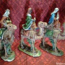 Figuras de Belén: REYES MAGOS DEL ORIENTE ANTIGUOS. Lote 168199262
