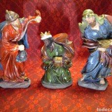 Figuras de Belén: REYES MAGOS DEL ORIENTE. Lote 168200345