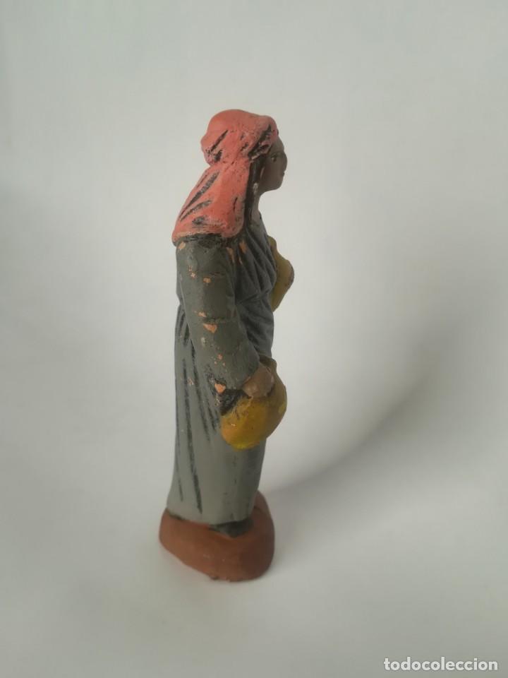 Figuras de Belén: Belén pastor barro terracota maestros artesanos Murcia - Foto 3 - 169738860
