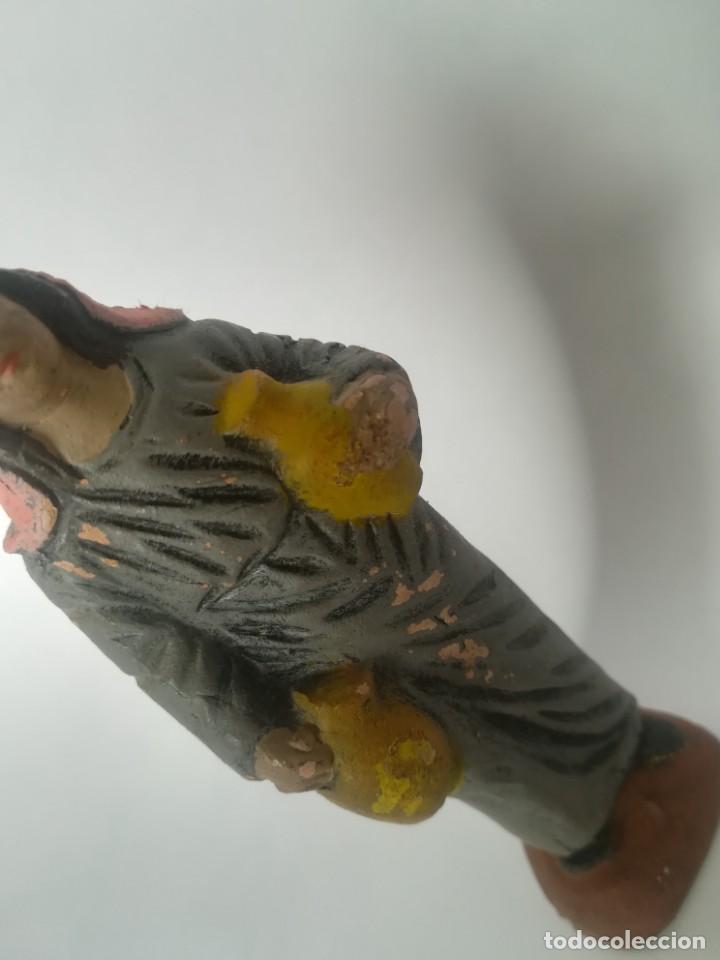 Figuras de Belén: Belén pastor barro terracota maestros artesanos Murcia - Foto 4 - 169738860