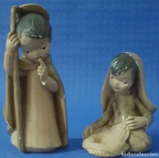 Figuras de Belén: FIGURAS DE BELÉN MARIA Y JOSÉ. Lote 170484464