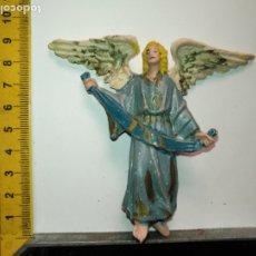 Figurines pour Crèches de Noël: ANTIGUA FIGURA DE PORTAL DE BELEN PLASTICO DURO HAGA SU OFERTA - PERSONAJE. Lote 172472690