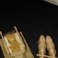 Figuras de Belén: CARRO CON BUEYES. Lote 172627980