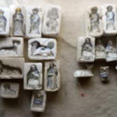 Figuras de Belén: 24 FIGURAS DE BELÉN DE PORCELANA NUEVAS SIN USO VINTAGE. Lote 174338530