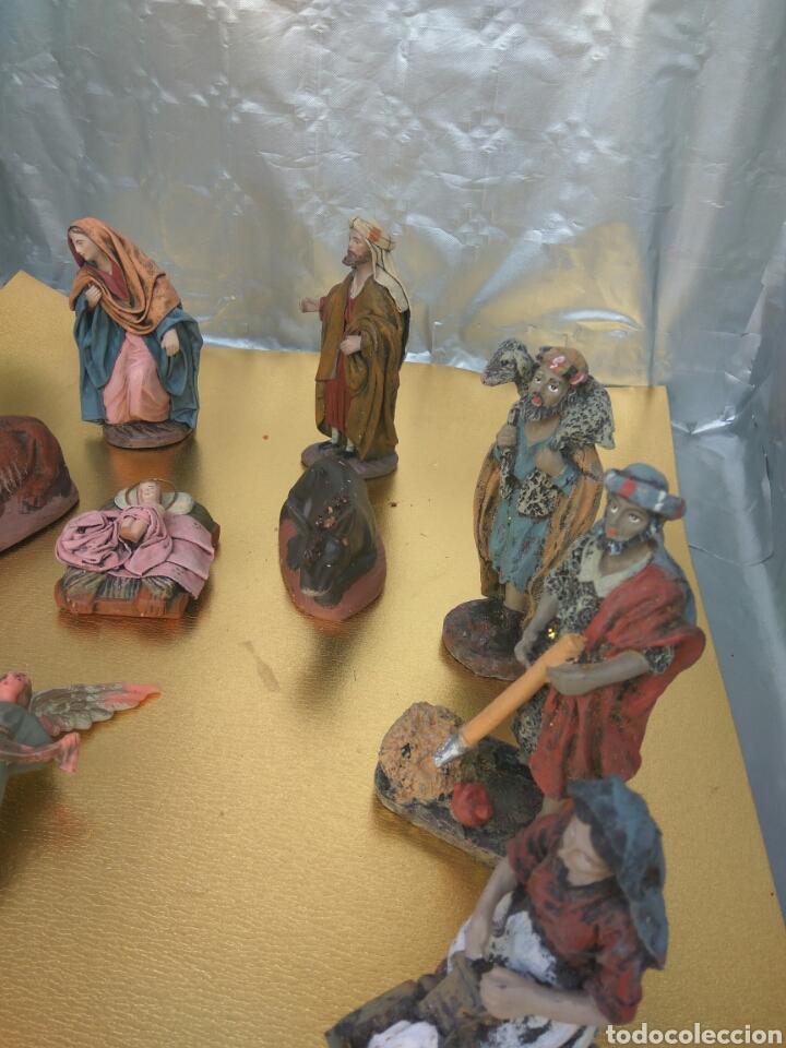Figuras de Belén: FIGURAS BELÉN ARTESANÍA SERRANO ( MURCIA) - Foto 3 - 174486662