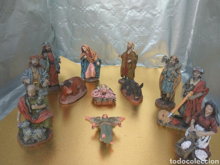 FIGURAS BELÉN ARTESANÍA SERRANO ( MURCIA) (Coleccionismo - Figuras de Belén)