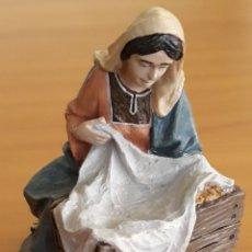 Figuras de Belén: FIGURA BELEN VIRGEN MARÍA. Lote 176344893