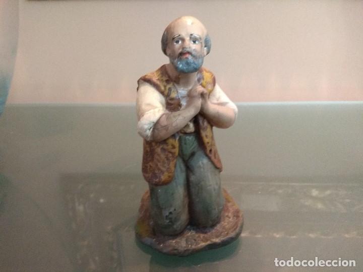 FIGURA OLOT BELEN PESEBRE NACIMIENTO NAVIDAD SERIE 15 MUY ANTIGUOS (Coleccionismo - Figuras de Belén)