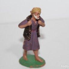 Figuras de Belén: ANTIGUAS FIGURA DE BELEN PASTORCITO - DESCONOZCO SU FABRICANTE - AÑOS 60 - PEDIDO MINIMO 5€. Lote 176774252