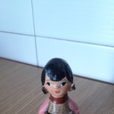 Figuras de Belén: FIGURA PASTORA DE BARRO PARA BELEN. Lote 177809060