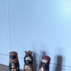Figuras de Belén: FIGURAS REYES MAGOS Y CAMELLO DE PORCELANA. Lote 177812260