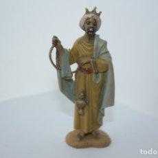 Figurines pour Crèches de Noël: REYES MAGOS DE 8 CM PLASTICO. Lote 178962798
