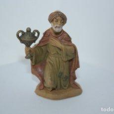 Figurines pour Crèches de Noël: REYES MAGOS DE 8 CM PLASTICO. Lote 178962836
