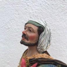 Figuras de Belén: PESCADOR. BELÉN NAPOLITANO.. Lote 179004697
