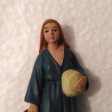 Figuras de Belén: FIGURA PASTORA PARA PORTAL DE BELÉN O NACIMIENTO DE NAVIDAD. Lote 179534827