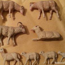 Figuras de Belén: LOTE ANIMALES PARA PORTAL DE BELÉN O NACIMIENTO DE NAVIDAD. Lote 180301753