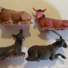 Figuras de Belén: LOTE ANIMALES PARA PORTAL DE BELÉN O NACIMIENTO DE NAVIDAD. Lote 180312767