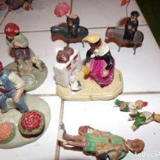 Figuras de Belén: LOTE FIGURAS BELEN BARRO. Lote 181473847