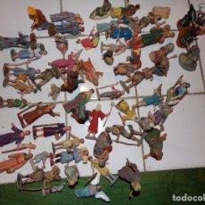 Figuras de Belén: LOTE FIGURAS BELÉN PLASTICO. Lote 181474765