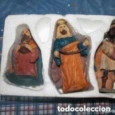 Figuras de Belén: LOS TRES REYES MAGOS PARA BELEN DE LOS 80. Lote 181506581