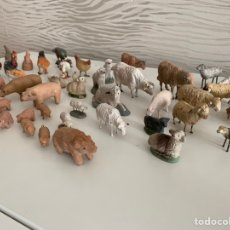 Figuras de Belén: LOTE. 55 ANIMALES BARRO. BELEN.. Lote 182055713