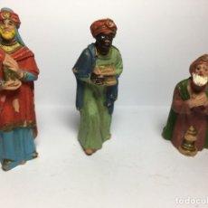 Figuras de Belén: FIGURAS DE BELEN REYES MAGOS. Lote 182493305