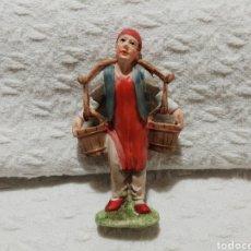 Figuras de Belén: PRECIOSA FIGURA PORTAL DE BELÉN, NACIMIENTO O MISTERIO PINTADO A MANO.. Lote 182801011