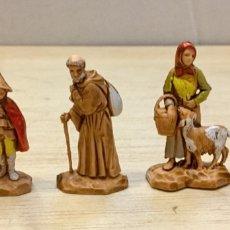 Figuras de Belén: BELÉN. LOTE 4 PASTORES 3,5 CMS. MORANDUZZO. Lote 183006666