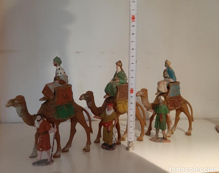 Figuras de Belén: LOTE REYES MAGOS BELÉN - Foto 4 - 183191041