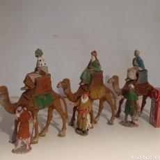 Figuras de Belén: LOTE REYES MAGOS BELÉN. Lote 183191041