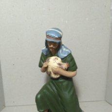 Figuras de Belén: FIGURA DE BELEN, PESEBRE, DE TERRACOTA. PASTOR ADORANDO. Lote 183731832