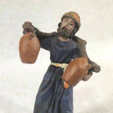 Figuras de Belén: FIGURA DE AGUADOR. Lote 184103435