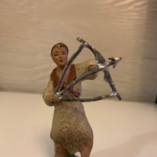 Figurines pour Crèches de Noël: FIGURA BARRO. ( 9 CM ). Lote 184117326