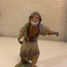 Figurines pour Crèches de Noël: FIGURA BARRO ( 9 CM ). Lote 184117466