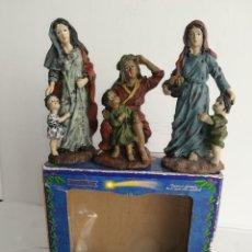 Figuras de Belén: 3 PRECIOSAS FIGURAS BELÉN ALTA CALIDAD BOYS TOYS S.A. Lote 184350282