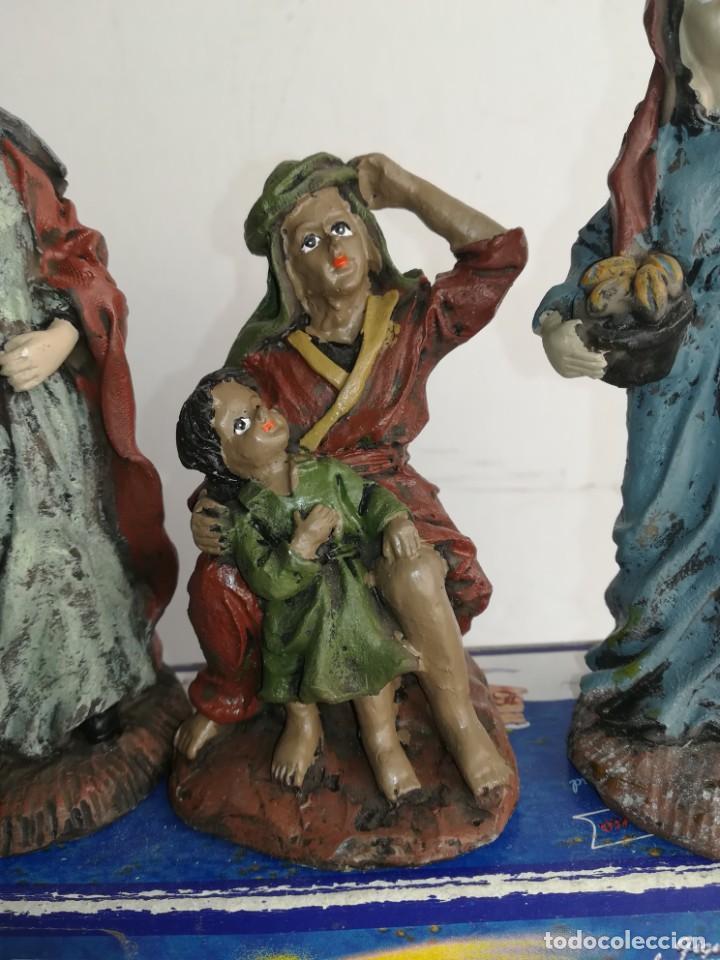 Figuras de Belén: 3 preciosas figuras Belén alta calidad Boys Toys S.A - Foto 2 - 184350282