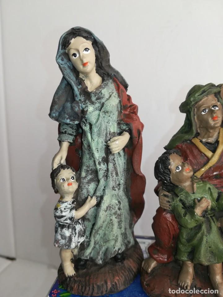Figuras de Belén: 3 preciosas figuras Belén alta calidad Boys Toys S.A - Foto 3 - 184350282