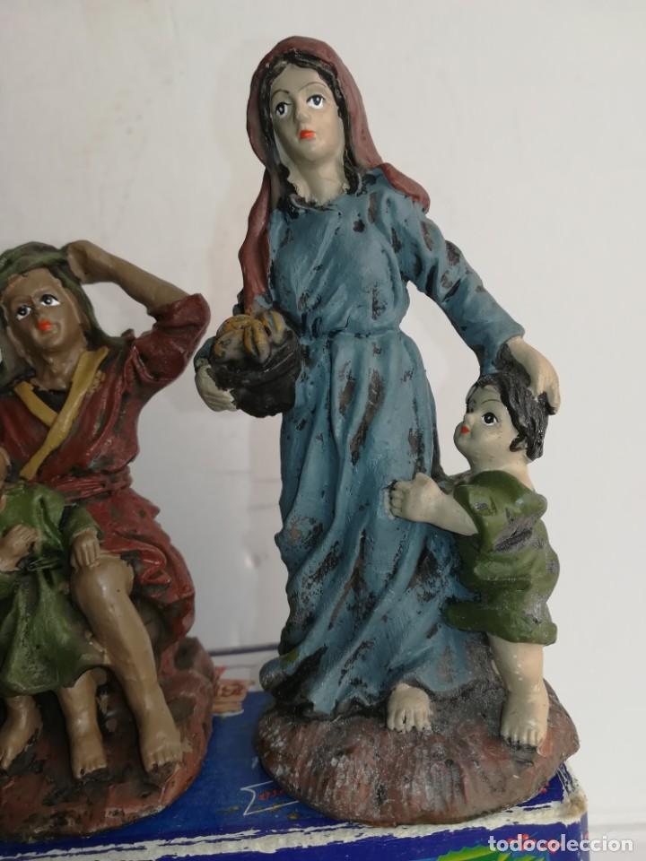 Figuras de Belén: 3 preciosas figuras Belén alta calidad Boys Toys S.A - Foto 4 - 184350282