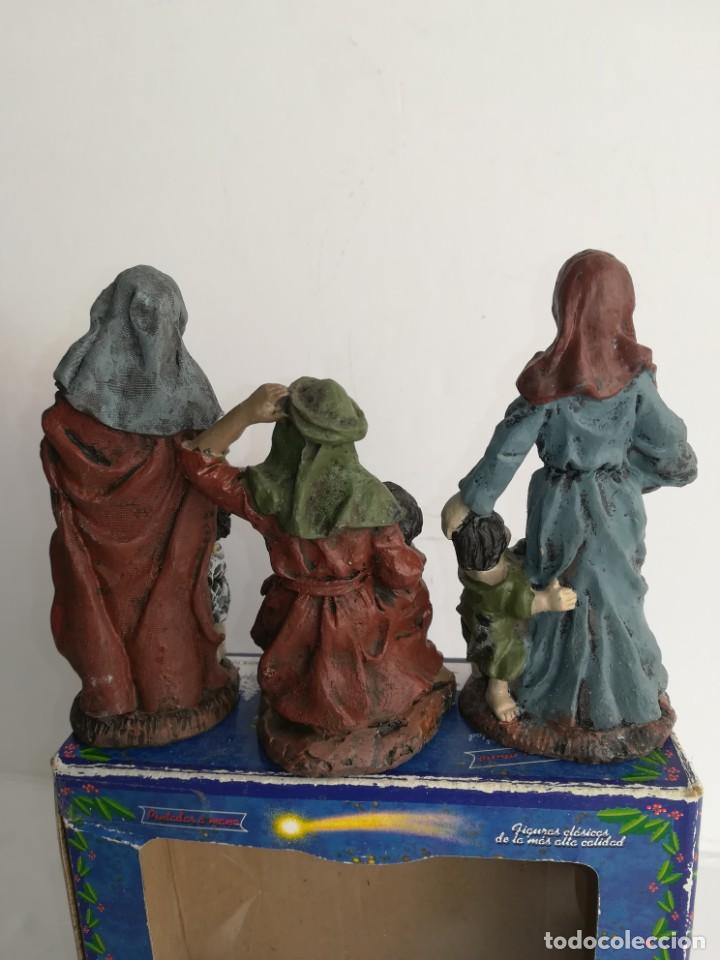Figuras de Belén: 3 preciosas figuras Belén alta calidad Boys Toys S.A - Foto 5 - 184350282