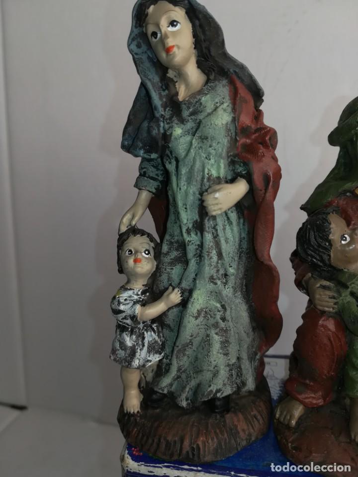 Figuras de Belén: 3 preciosas figuras Belén alta calidad Boys Toys S.A - Foto 6 - 184350282