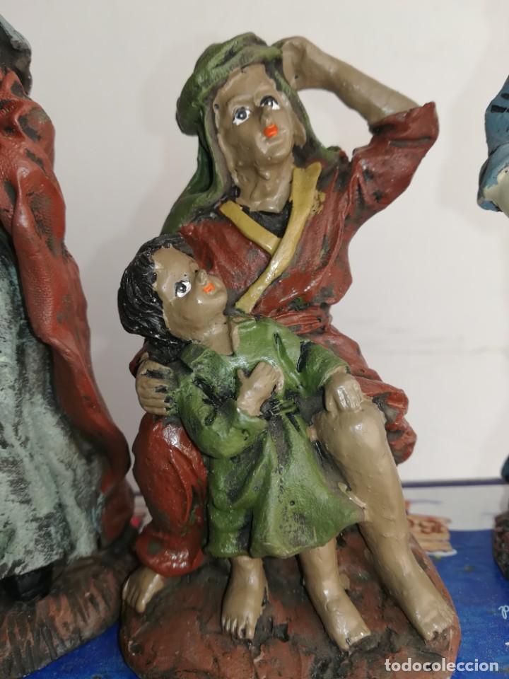 Figuras de Belén: 3 preciosas figuras Belén alta calidad Boys Toys S.A - Foto 7 - 184350282