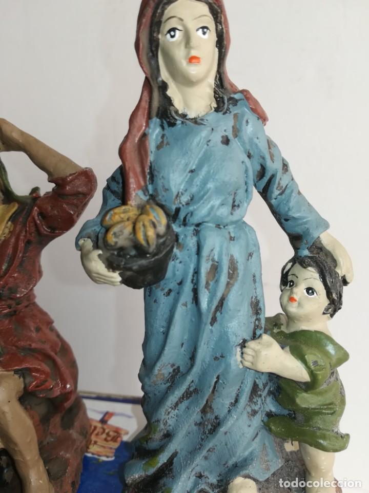 Figuras de Belén: 3 preciosas figuras Belén alta calidad Boys Toys S.A - Foto 8 - 184350282