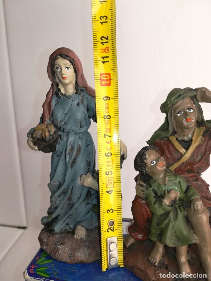 Figuras de Belén: 3 preciosas figuras Belén alta calidad Boys Toys S.A - Foto 12 - 184350282